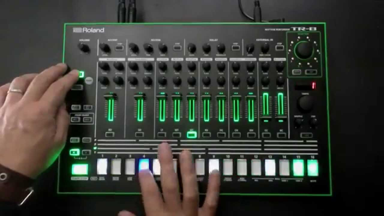 aira 7x7 tr8 drum machine expansion demo youtube. Black Bedroom Furniture Sets. Home Design Ideas