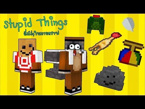 Minecraft : Stupid Things สิ่งโง่ๆในมายคราฟ