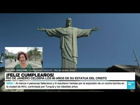 Informe desde Río: la ciudad brasileña celebra 90 años de la instalación del Cristo Redentor