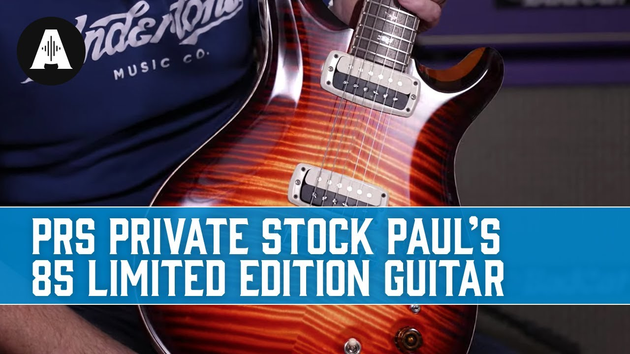 Does A 13 000 Guitar Really Sound That Much Better Prs Private Stock Paul S 85 Youtube