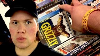 Blu-ray and Dvd Hunting at the Hollywood Autograph Show / Farmers Market Tour