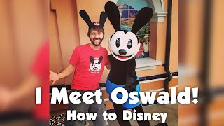 I MEET OSWALD AT DISNEYLAND! How 2 Disney