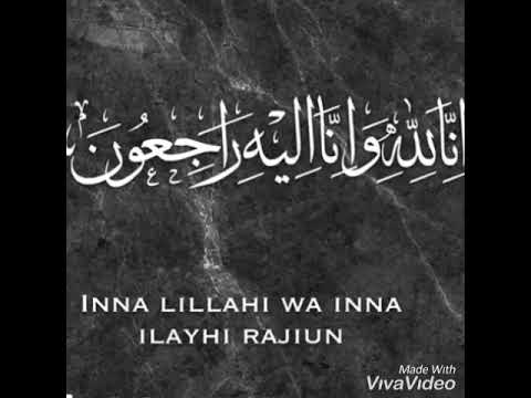 inna lillahi wa inna ilayhi rajiun meaning
