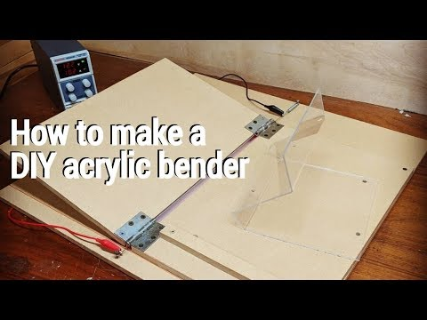 How to make a DIY acrylic bender (Cheap & easy)