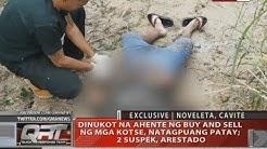 QRT: Dinukot na ahente ng buy and sell ng mga kotse, natagpuang patay
