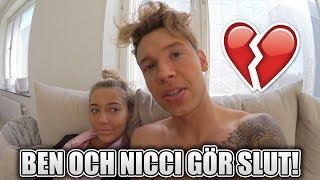 Ben mitkus och Nicci GÖR SLUT