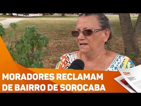 Moradores reclamam de bairro de Sorocaba - TV SOROCABA/SBT