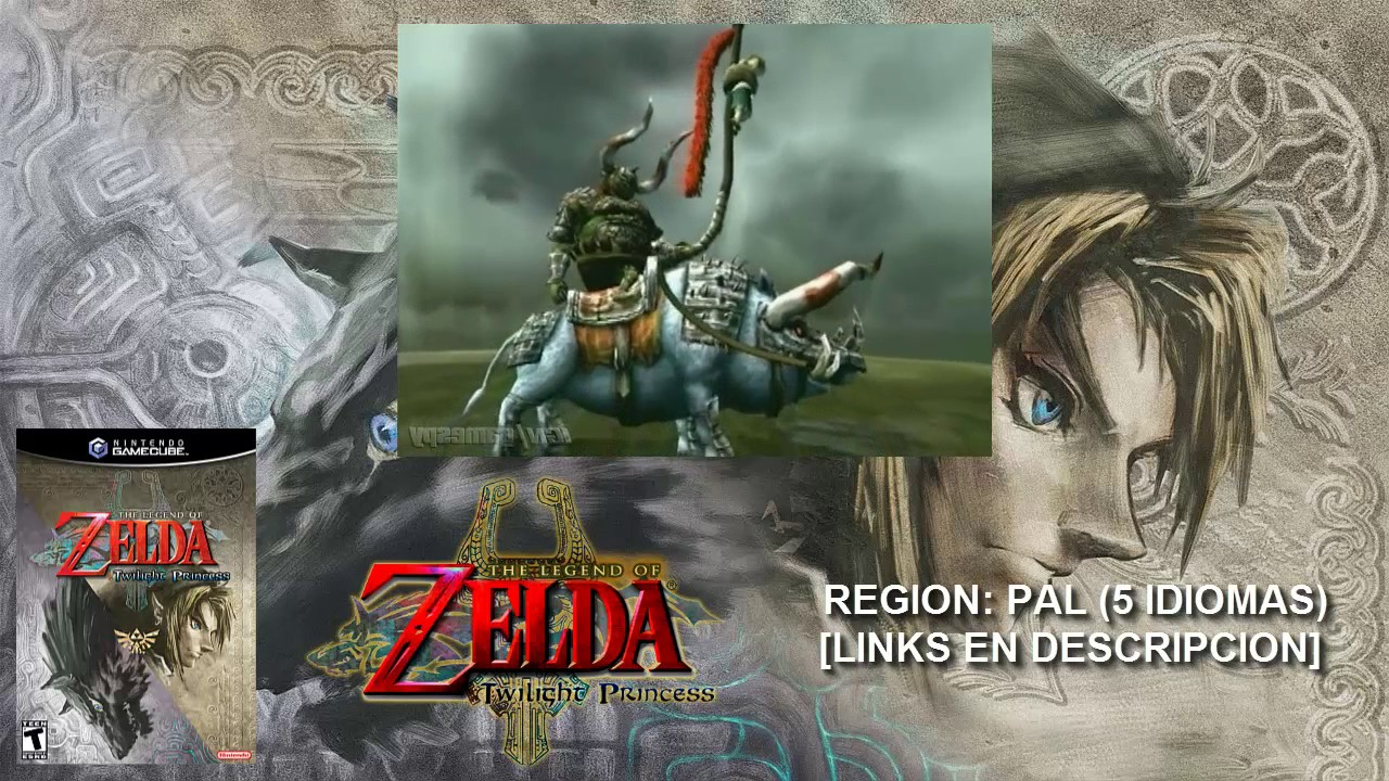 [NGC] Zelda Twilight Princess【ISO PAL Multi 5】(MEGA)