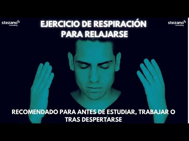 [EJERCICIO RESPIRACIÓN] RUTINA DE RELAJACIÓN