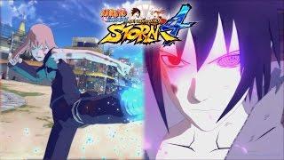 naruto storm 4 sasuke vs sakura with neji naruto new hidden leaf stage japan expo demo gameplay