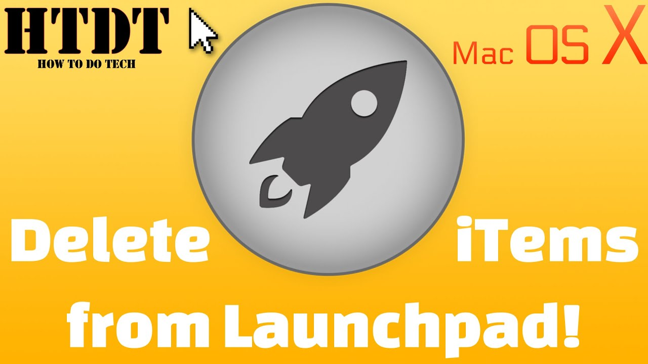 How To Delete Apps from Launchpad (No Terminal Needed)