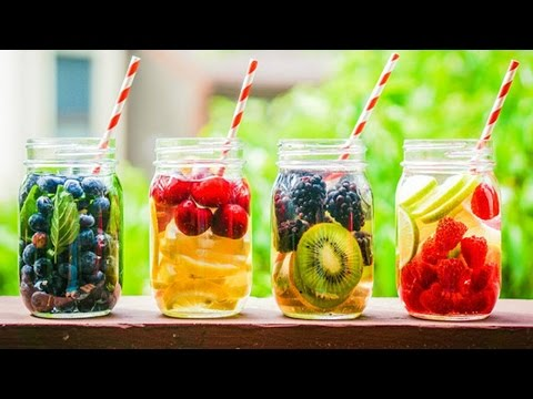 DIY Fruit Infused Water | Beat The Heat