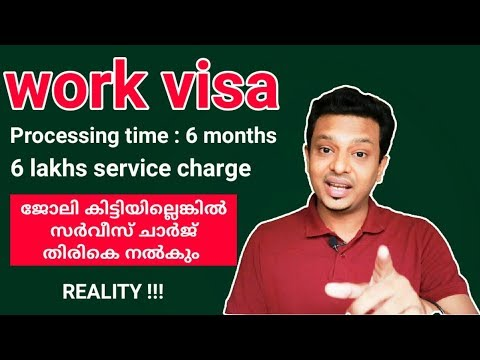 Australia/Canada work visa | processing time 6 months