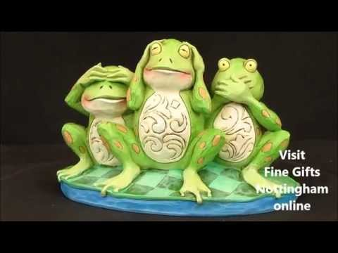 Jim Shore Frogs 'Croak No Evil' Figurine - Heartwood Creek 4047051