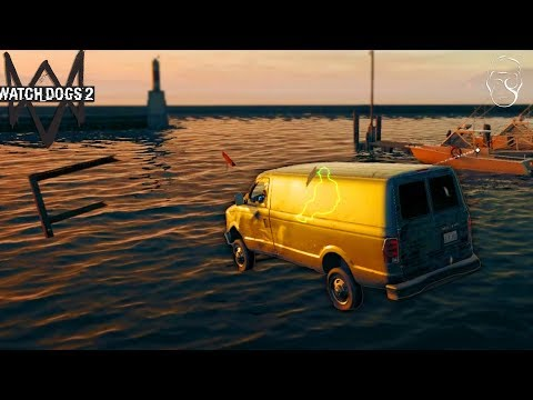 Am sarit cu duba in apa! | Watch Dogs 2 [CO-OP]