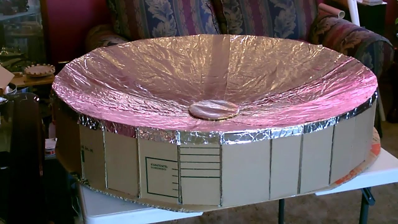 My Homemade Solar Parabolic Dish