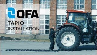 OFA Tapio chain installation