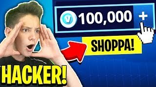 I HAVE HACKERED THE ACCOUNT of a YOUTUBER FAMOSO! Fortnite ITA 😈