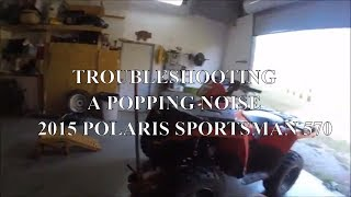 Troubleshooting my 2015 Polaris Sportsman 570 and hopefully fixed it!!!!