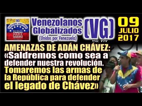"""Amenazas de Adán Chávez: """"Tomaremos las armas de la República para defender el legado de Chávez"""""""