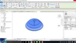 how to model in place a marble fountain in revit ?