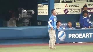 2016年8月14日 <DeNA2-3広島>◇横浜 試合前イベント ベイスター...