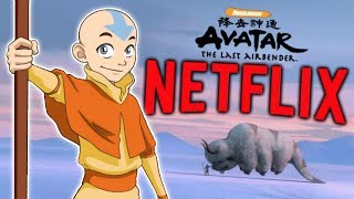 NEW Avatar: The Last Airbender Live-Action Series Heading to Netflix