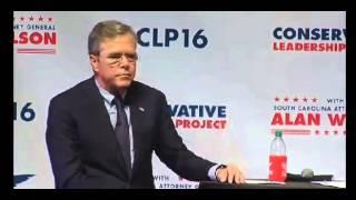 Jeb Bush Stuff Happens School Shootings 10 02 15
