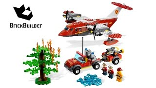 Lego City 4209 Fire Plane - Lego Speed Build