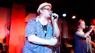 Monkey Boots- King Hammond - 100 Club, Oxford Street, London 30/07/2011