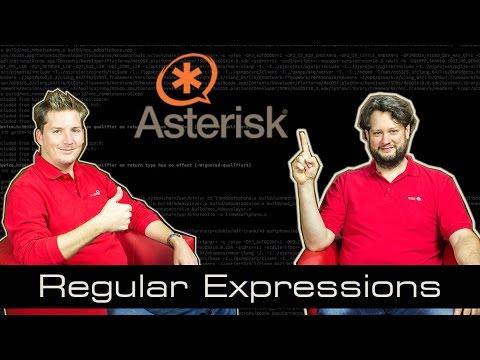 Asterisk Tutorial 12 - Regular Expressions (Regex) [english]