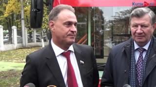 Николай Полторацкий подарил Курску троллейбус стоимостью 10 млн. рублей