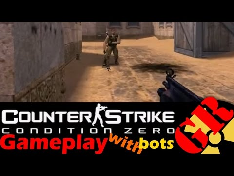 Counter-Strike: Condition Zero gameplay with Hard bots - Dust - Counter-Terrorist