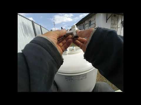 Как установить предохранительный клапан  на бойлер, водонагреватель.