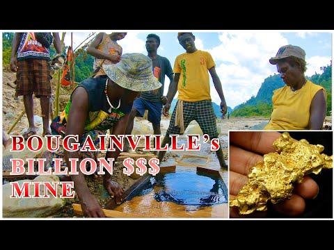 BOUGAINVILLE's BILLION $$$ GOLD FACTORY   The Panguna Mine