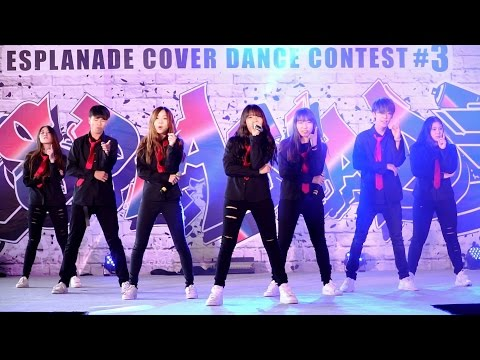 160806 MVP cover KPOP - Boy In Luv + Fire + Dope (BTS) @ Esplanade Cover Dance#3 (Semi-Final)
