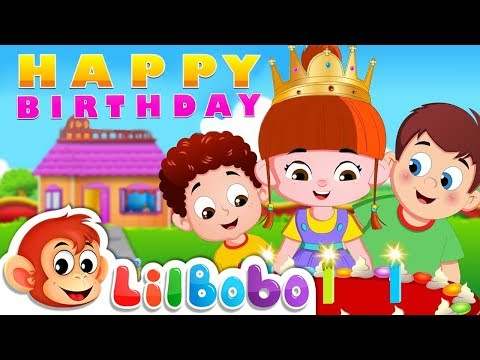 Happy Birthday Song | FlickBox Nursery Rhymes and Children Songs | Kids Poem