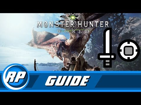 Monster Hunter World - Sword and Shield Progression Guide (Recommended Playing)