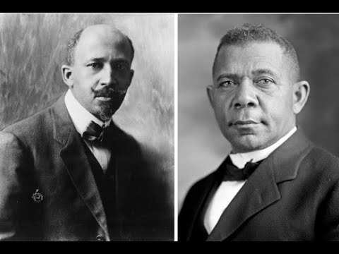 W.E.B. DuBois And Booker T. Washington Visual Story
