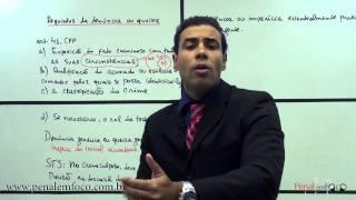 Ação penal 17 - Requisitos da denúncia ou queixa- Prof. Vinícius Reis