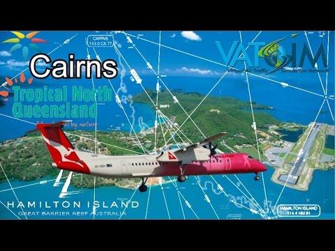 Vatsim Far North QLD, Majestic Q400 Cairns to Hamilton Island