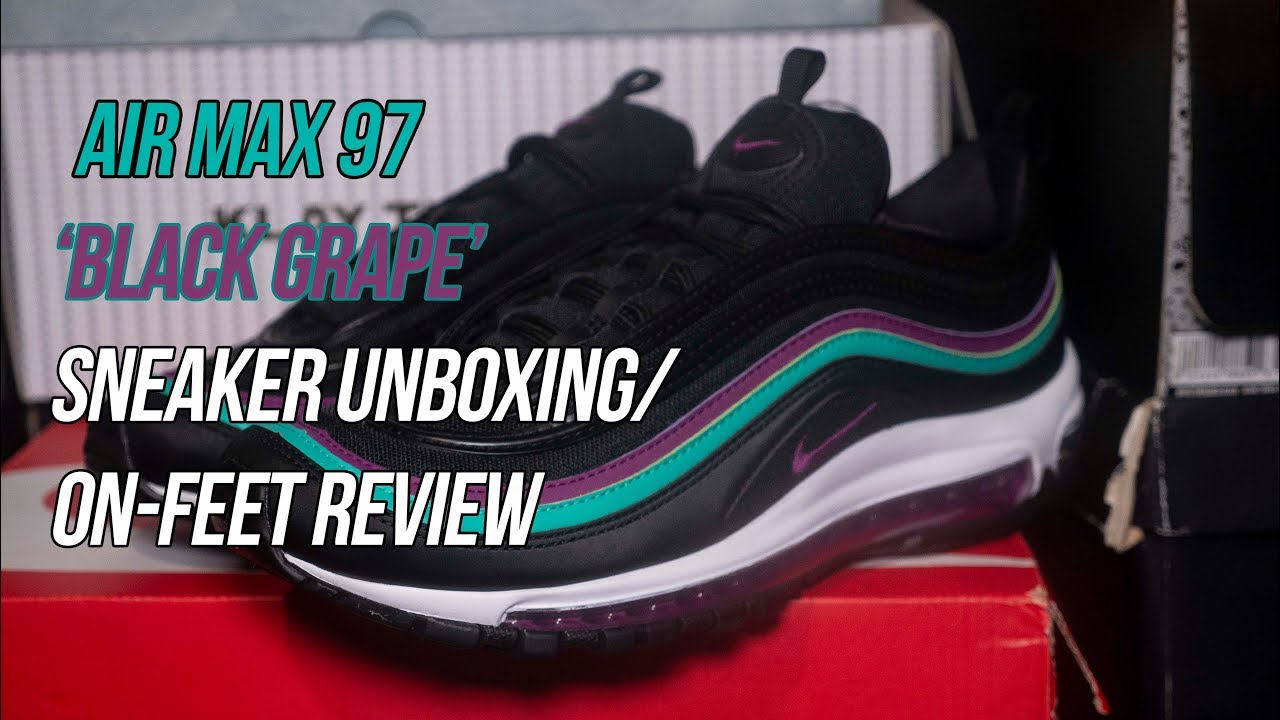 Air Max 97 Black Grape Solepost Unboxings Youtube