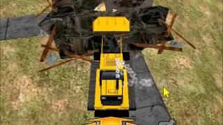 Matchbox Caterpillar Construction Zone (PC)