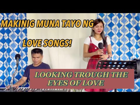 Download LOOKING TROUGH THE EYES OF LOVE COVER with marvin agne   clarissa Dj clang