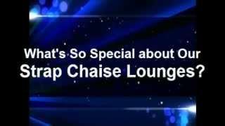Pvc Pipe Vinyl Strap Chaise Lounge