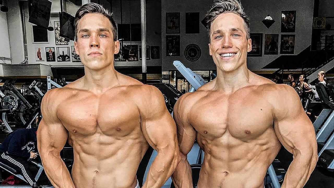 ORGANIC TWINS | Natural physique 🔥 Fitness Motivation 2020