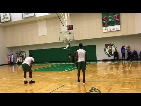 Kyrie Irving, Jayson Tatum, Jaylen Brown play 1-on-1 (part 2) | Boston Celtics