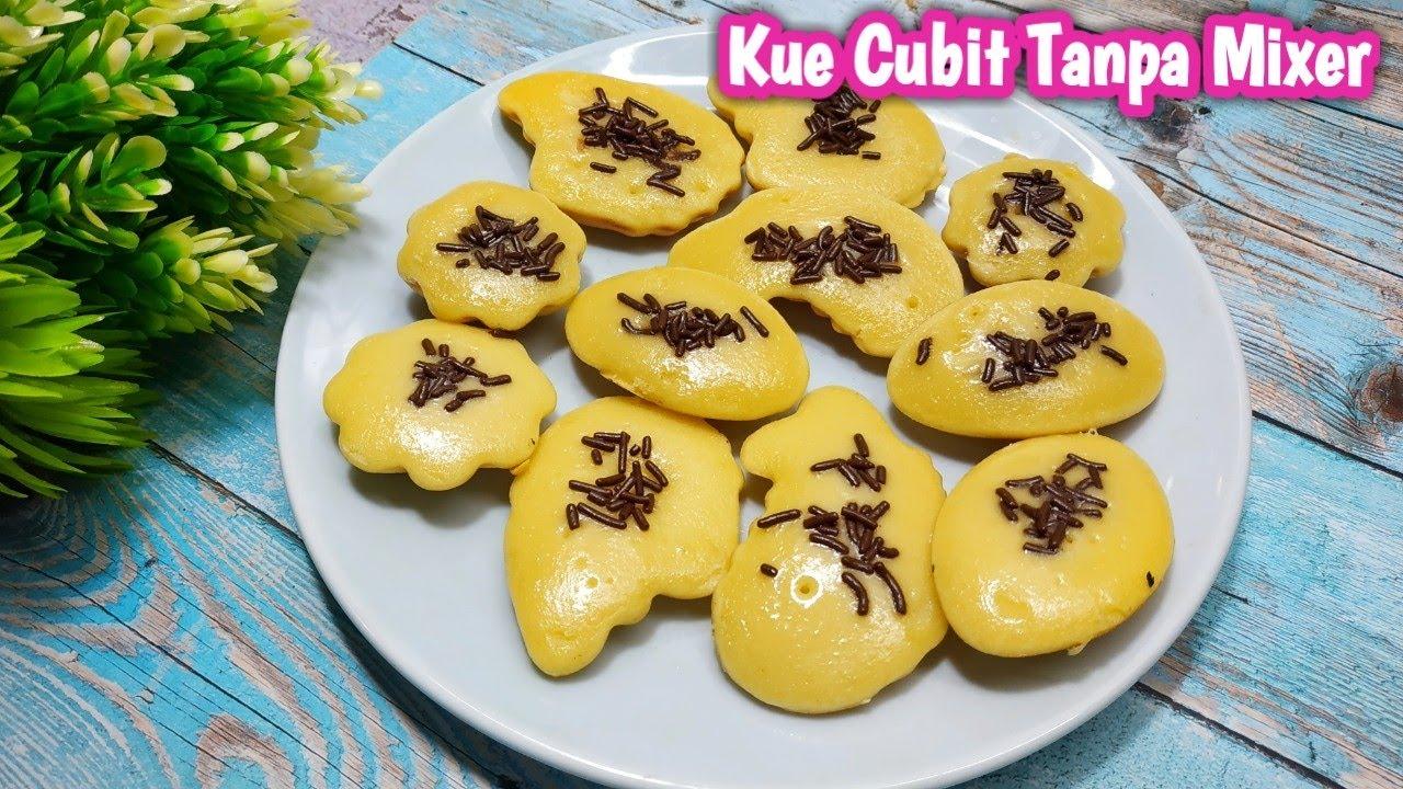 Resep Kue Cubit Tanpa Mixer Youtube