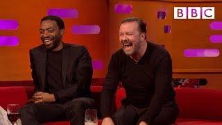 When Ricky Gervais met David Bowie! - BBC