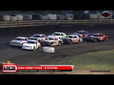 Hobby Stock B/Sportsman A - Nobles County Speedway - 8/18/18